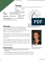 Astro-Databank Christy Turlington