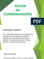 Conexxion de Condensadores o Capacitores