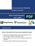 North Link Connections Presentation