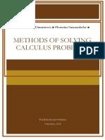 Methods Solving Calculus Problems