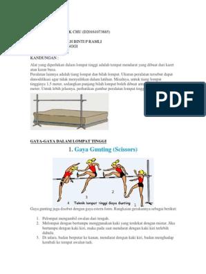 Gambar Lompat Tinggi Gaya Gunting - gaya foto