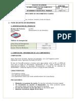 Hoja de Seguridad Clorox (Hipoclorito)