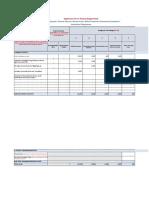 Annex 1 - Budget Template