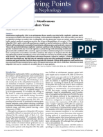 Glomerular Diseases, Membranous Nephropathy--A Modern View.
