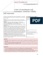 A Review of the Role of Adult Attachment Style in Psychosis