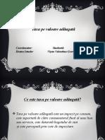 T.v.a Finante Publice