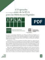 Unesco IFLA Bibliotecas Digitales