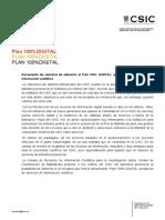 Plan100% DIGITAL CSIC