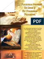 La Voluntad Perfecta de Dios y Su Voluntad Permisiva