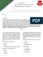 Examen de Física I_Undécimo_NormalSuperiorYarumal