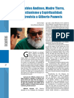 José L. López, Entrevista a Gilberto Pauwels