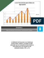 TABLAS DE DISTRIBUCIÓN DE FRECUENCIAS Y REPRESENTACIONES GRAFICAS