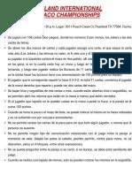 Reglas Del BURACO