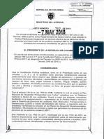 Decreto 762 Politica Publica Garantia de Los Derechos Sectores Sociales Lgbti