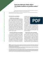 Recomendações Para Elaboração, Redação, Edição e