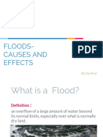 Floods-Causes and Effects