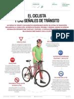 El Ciclista y Las Senales de Transito