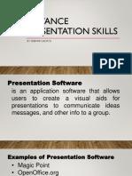 Advance Presentation Skills