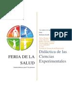 Unidad Didáctica Feria de La Salud 322 Grupo 9