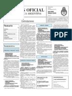 Boletin Oficial 08-11-10 - Tercera Seccion