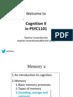 PSYC1101-Cognition-2_2019 SLsky 4 Pre-lecture Posting