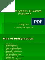 Adaptive Elearning Framework