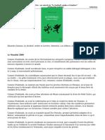 A Lire Un Extrait de Le Football Ombre Et Lumiere Deduardo Galeano