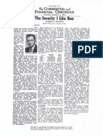 Warren Buffett 1950s Articles