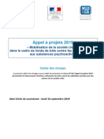 Appel à projet 2019