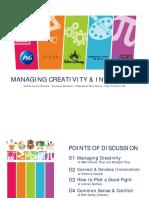 Sesi 7 - Managing Creativity & Innovation (Final)