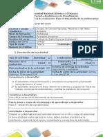 1-Guia de Actividades y Rubrica de Evaluación - Paso 3 -Desarrollo de La Problemática