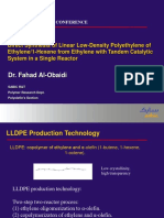 Direct synthesis of LLDPE