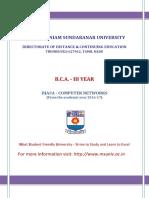 III B.Sc DCN NOTES