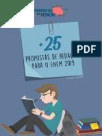 Mais 25 Propostas de Redação Para o Enem 2019 (Amostra)