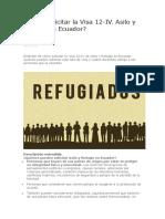 Cómo solicitar la Visa 12 - IV ecuador.docx
