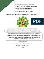 Plan Proyecto de Investigaci n e Innovaci n Tecnol Gica