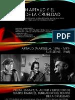 Antonin Artaud y El Teatro de La Crueldad
