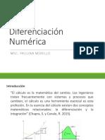 Diferenciacion Numérica