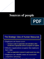 Sources of People