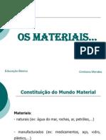 Os_materiais
