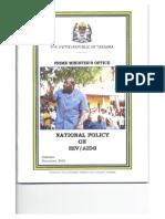 Tanzania National Aids Policy