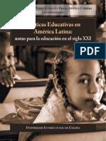 Políticas Educativas en América Latina_notas Para La Educación en El Siglo XXI