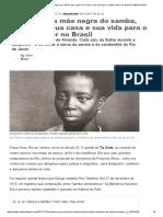 Tia Ciata é a Mãe Negra Do Samba, Que Cedeu Sua Casa e Sua Vida Para o Estilo Nascer No Brasil _ HuffPost Brasil