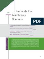 La fuerza de los Alambres y Brackets - Burstone G1 (1).pdf