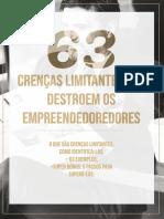 [eBook] 63 Crenças Limitantes