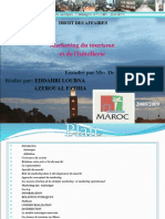 Power Point de Marketing Touristique
