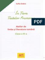 In Tara Textelor Frumoase - Clasa 3 - Sofia Dobra