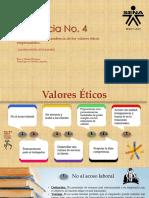 Evidencia No 4 Presentacion Valores Eticos Empresariales