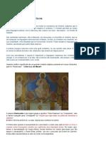 Cristo Pantocrator - Os Símbolos Litúrgicos