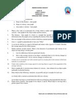 Class Ix Physics Worksheet 1 Motion 2019-20 (1)